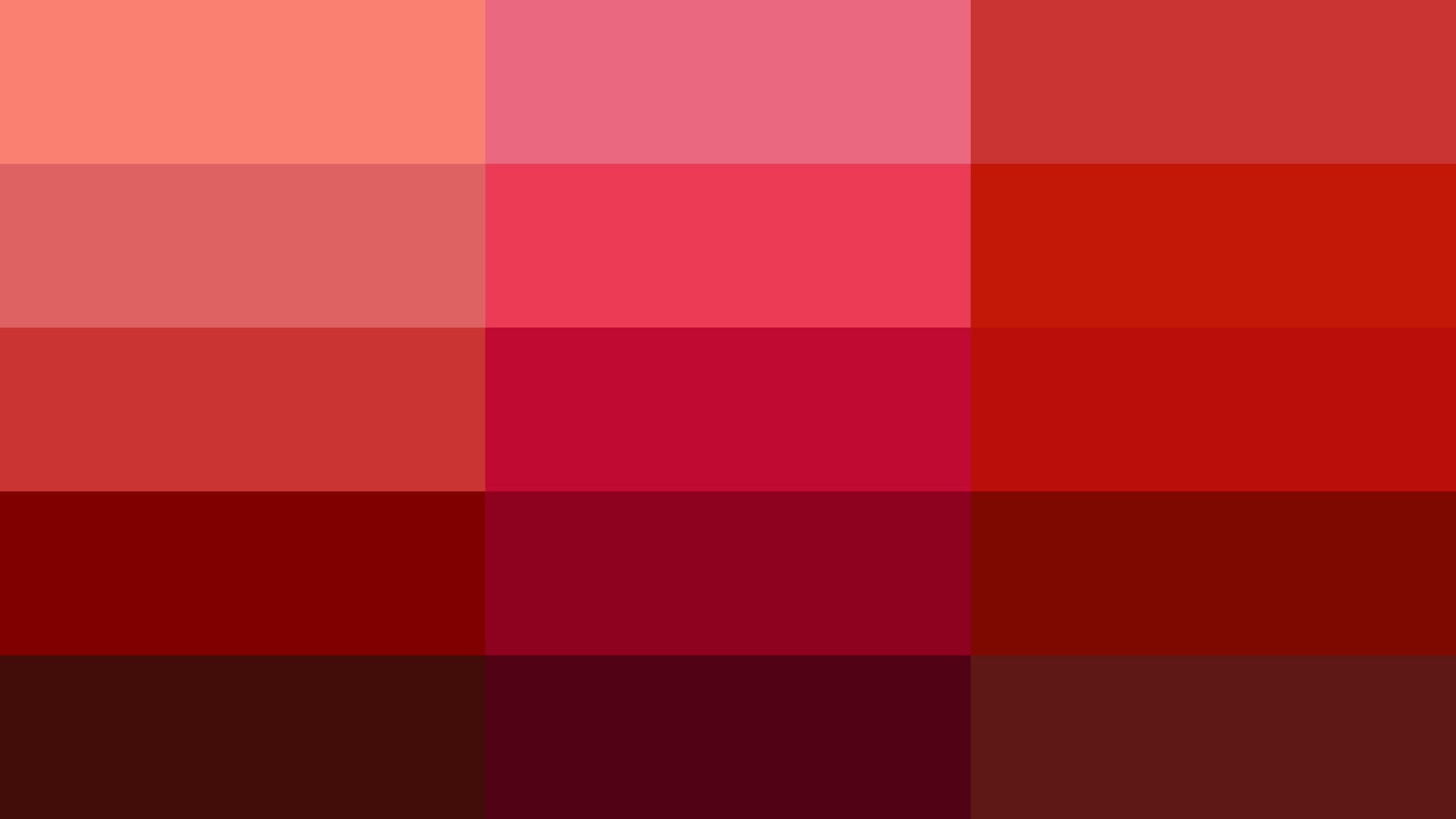 Esistono cantinaia di rossi